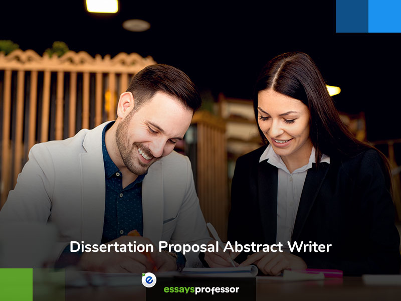 Dissertation Proposal Abstract Writer